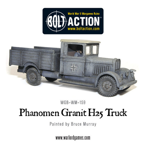 German Phanomen Granit H25 Truck