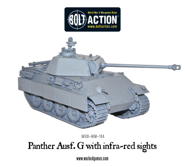 Panther ausf G with Infra-red sights
