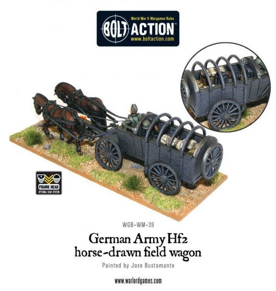 German Army Hf2 horsedrawn field wagon