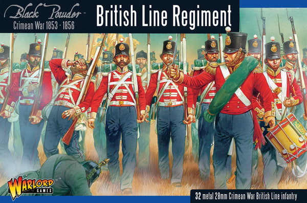 Crimean War: British Line Regiment 1853-1856