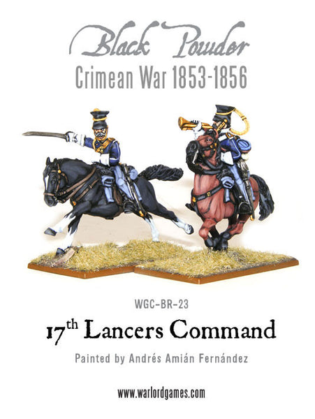 Crimean War: 17th Lancers command 1853-1856