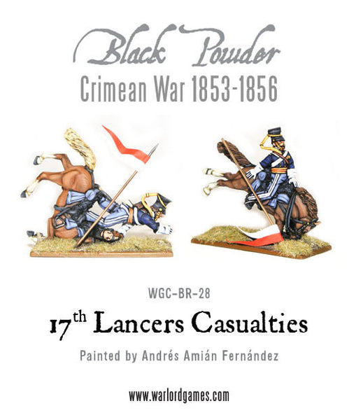 Crimean War: 17th Lancers casualties 1853-1856