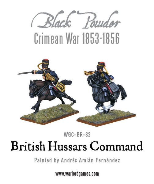 Crimean War British Hussars command