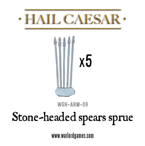 Stone Headed Spears