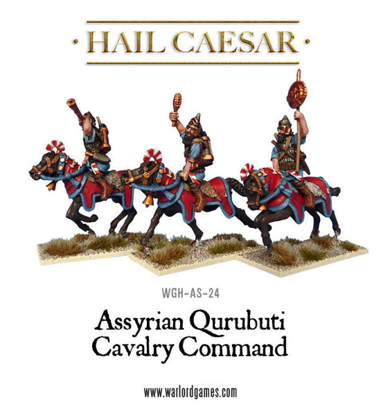 Assyrian Qurubuti mounted Command