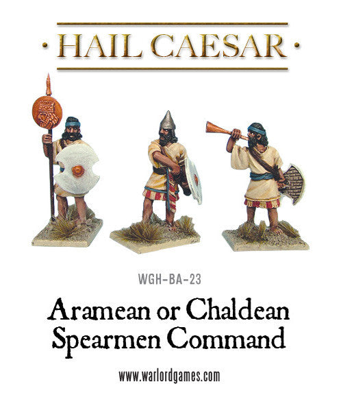 Chaldean or Aramean Spearmen Command