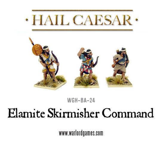 Elamite skirmisher command