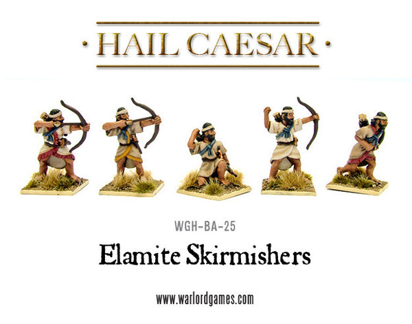 Elamite Skirmishers with bows