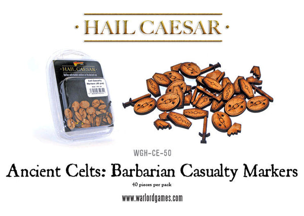 Ancient Celts: Barbarian Casualty Markers