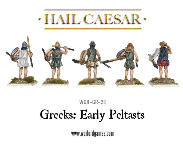 Greeks: Early Peltasts