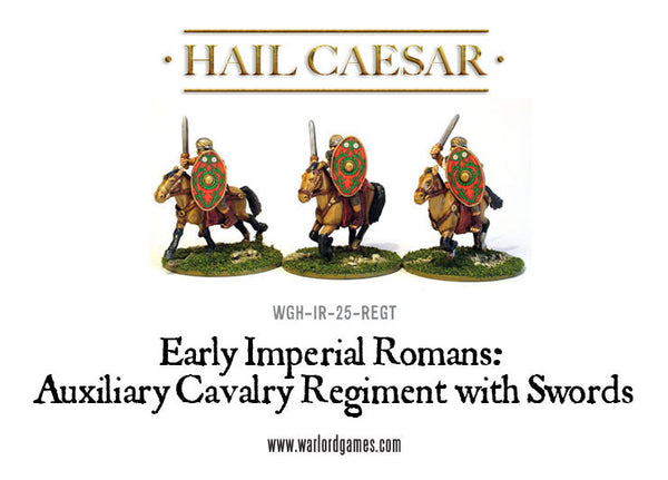 Early Imperial Romans: Auxiliary Cavalry Regiment with Swords