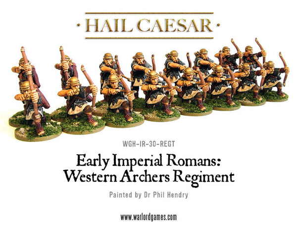 Early Imperial Romans: Western Auxiliary Archers Regiment
