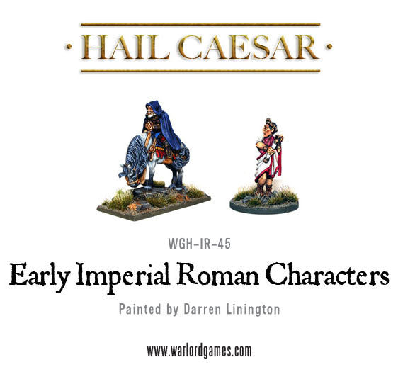Early Imperial Romans: Emperors