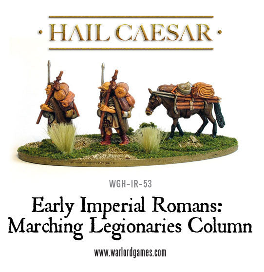 Early Imperial Romans: Marching Legionaries Column