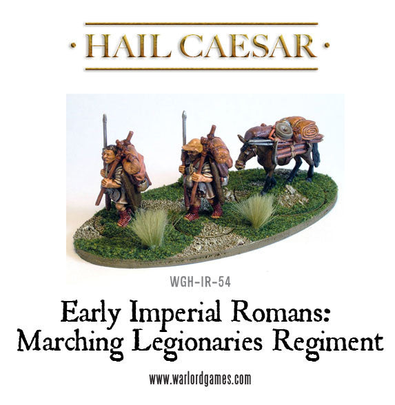 Early Imperial Romans: Marching Legionaries Regiment