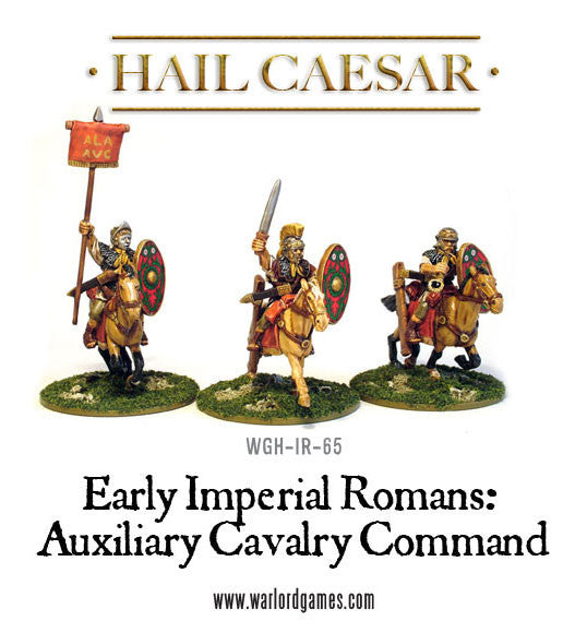 Early Imperial Romans: Auxiliary Cavalry Command pack
