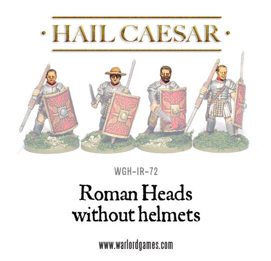 Roman Heads without helmets (4)