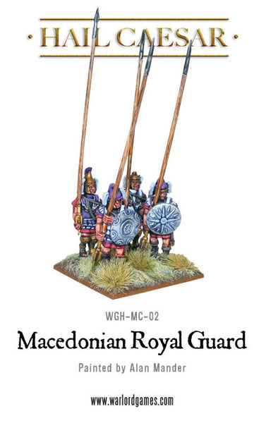 Macedonians: Royal Guard plastic boxed set
