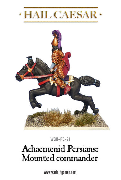 Achaemenid Persians: Mounted Persian commander
