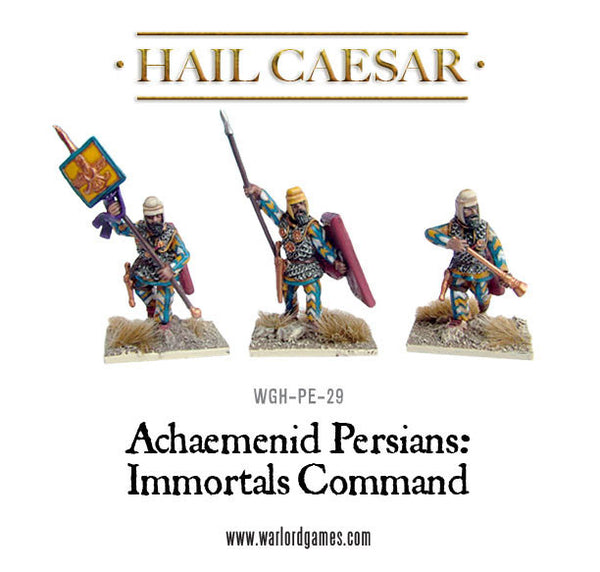 Persian Immortals command