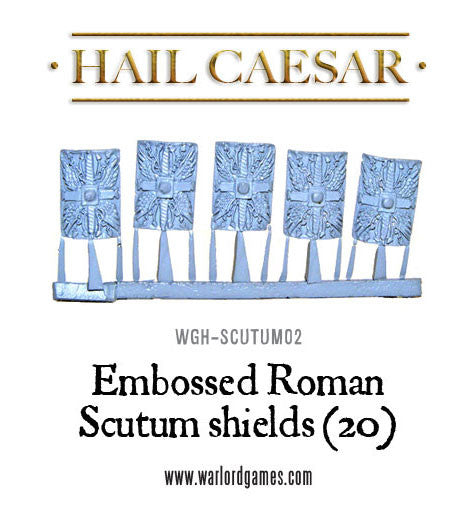 Embossed Roman Scutum shield pack (20)
