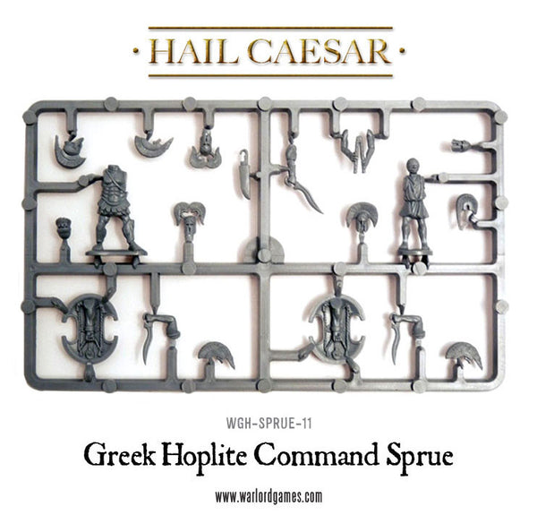Greek Hoplite Command Sprue