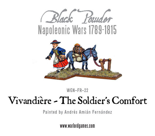 Napoleonic Wars: Vivandiere - The Soldier's Comfort 1789-1815