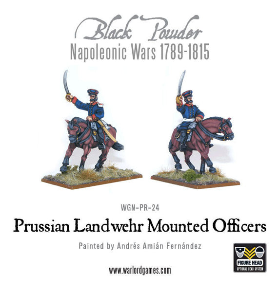 Napoleonic Wars: Prussian Landwehr Mounted Officers 1789-1815
