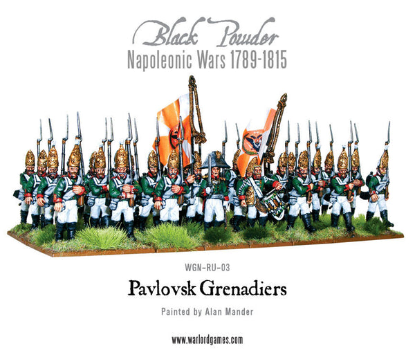 Napoleonic Wars: Pavlovsk Grenadier Regiment 1789-1815