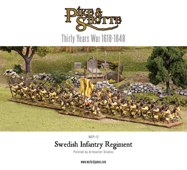 Swedish Infantry Regiment boxed set