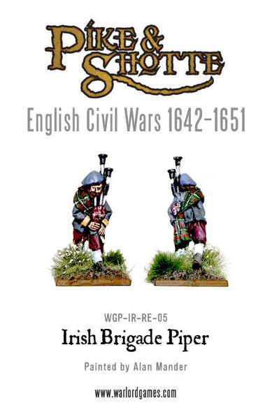 Irish Brigade Piper
