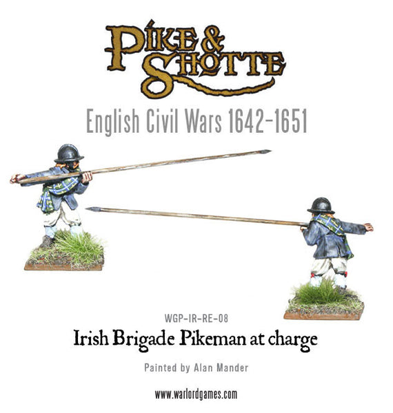 Irish Brigade Pikeman at Charge 3