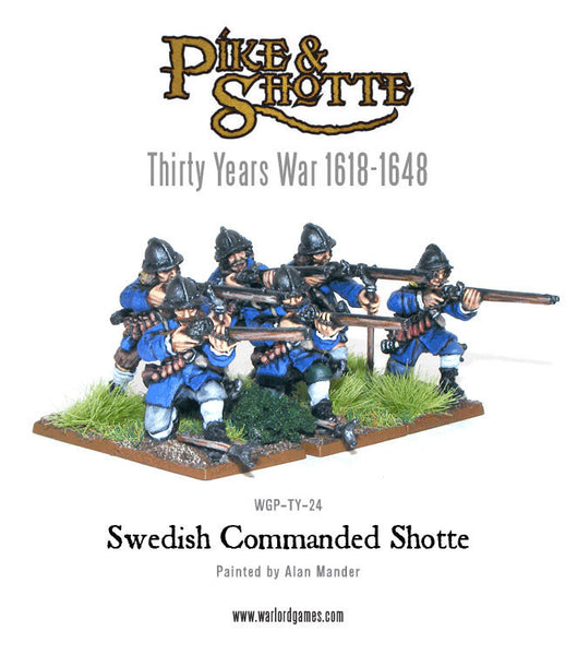 Swedish Commanded Shotte