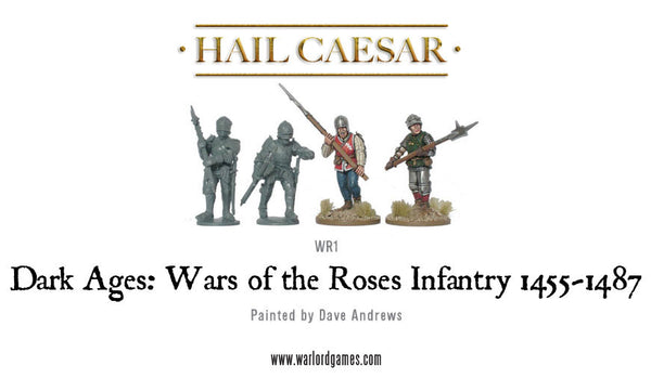 Wars of the Roses: Infantry (1455-1487) plastic boxed set