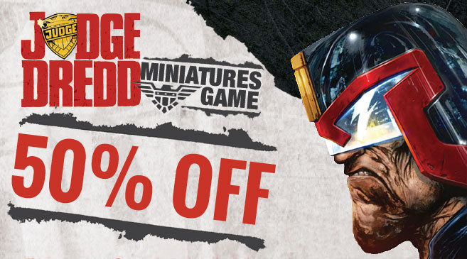 50% OFF Judge Dredd