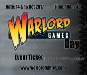 Warlord Games Day 2017