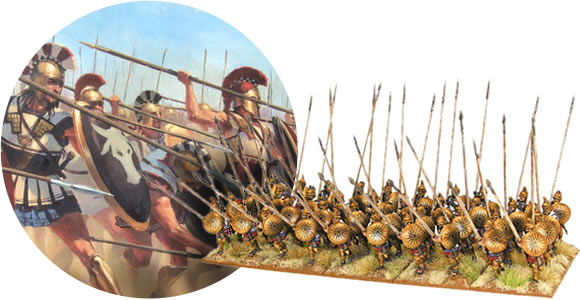 Greeks, Spartans, Macedonians 28mm