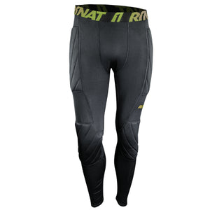 Rinat Padded Compression Legging Para Portero Negro Adulto Soccer Locker Dominicana