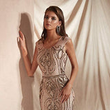 Leyidress Women's Mermaid Dress Bridesmaid Dress Evening Dress Party Prom Gown