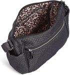 Vera Bradley Women's Denim On the Go Crossbody Purse, Denim Navy