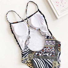 Load image into Gallery viewer, 2 Styles Printed High Waist Bikini Set - V1480