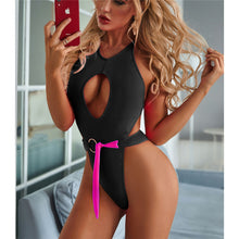Load image into Gallery viewer, Beach Bum Thong Monokini - V2050