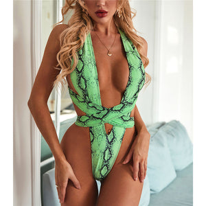 Beach Bum One Piece Swimsuit - V2034