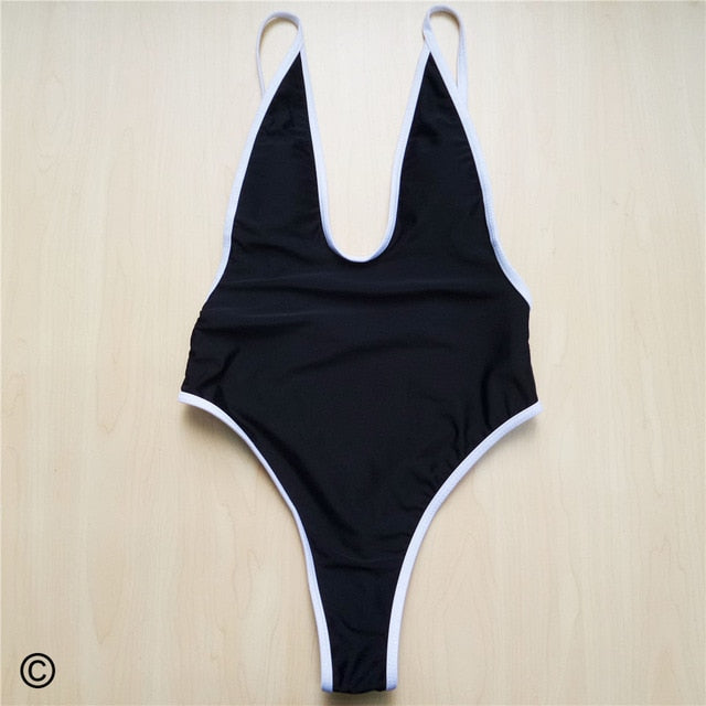 Beach Bum One Piece Swimsuit - V565