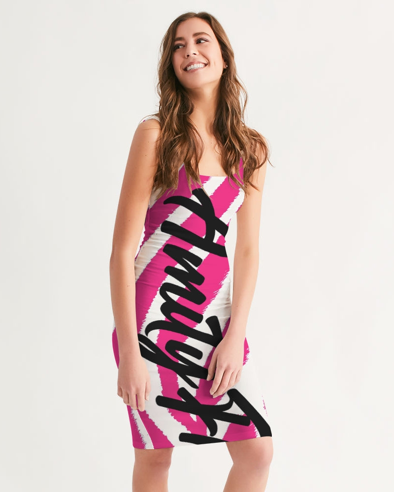 pinkZebra Women's Midi Bodycon Dress
