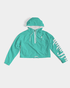 TealBaby Women's Cropped Windbreaker