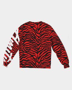 RedTiger Men's Classic French Terry Crewneck Pullover