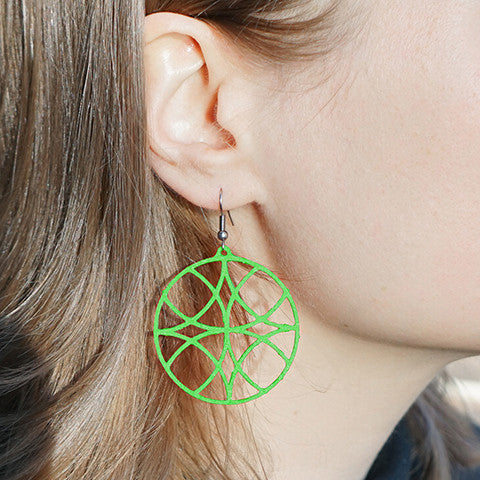 Ripple Effect Earrings – Circle
