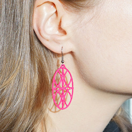 Ripple Effect Earrings – Ellipse