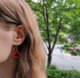 2017 Canada Day earrings